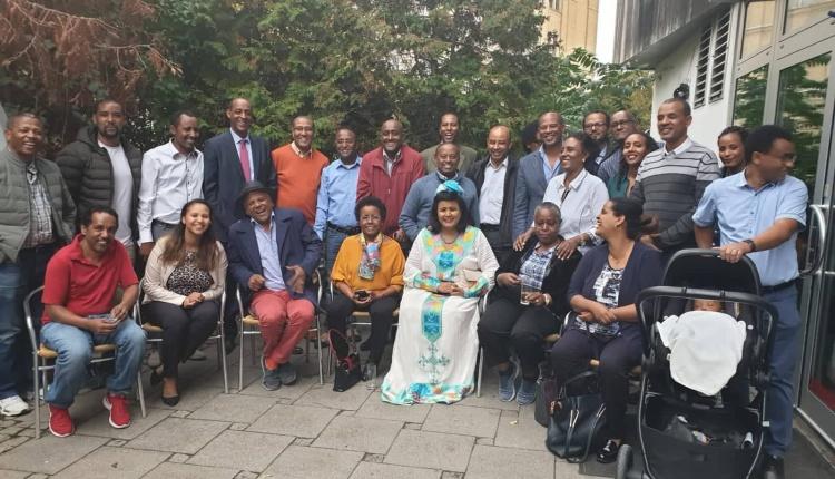 Ambassador Mulu Solomon participates in the 40th Year anniversary of Gondar- Leipzig Universities Partnership.