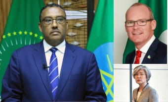 Deputy Prime Minister and Foreign Minister Demeke Mekonnen confers with Foreign Ministers of #SouthKorea and #Ireland