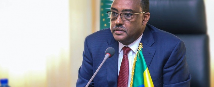 Deputy Prime Minister and Minister of Foreign Affairs of #Ethiopia Demeke Mekonnen Confers with #UN Senior Officials