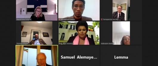 Ambassador Mulu Solomon briefs Honorary Consuls of Ethiopia